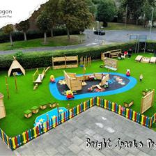 Bright Sparks Preschool's Playground Design
